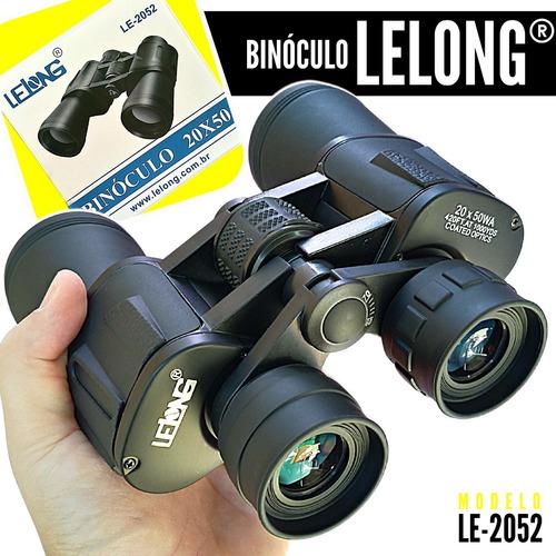Binoculo Profissional Lelong 20x50 Longo Alcance Le 2052