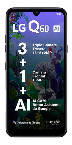LG Q60 64 Gb New Aurora Black 3 Gb Ram