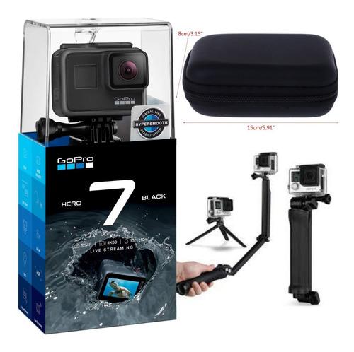 Câmera Hero 7 Black À Prova Dágua 4k + 3way
