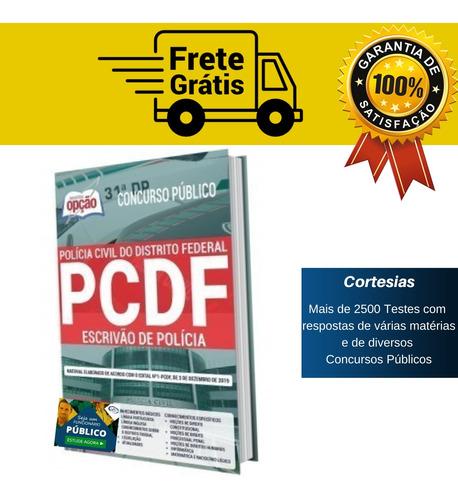 Apostila Concurso Pc Df Escrivão De Polícia Distrito Federal