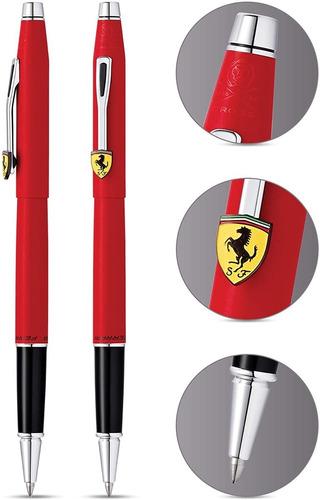 Caneta Cross Ferrari Century Rollerball Vermelha Fr0085-117