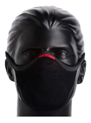 Máscara De Proteção Esporte Fitnes Fiber Knit 3d Com 1 Refil