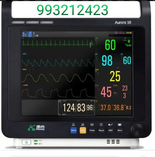 Monitor Multiparametro Para Pacientes En Casa U Hospital
