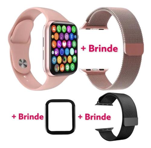 Smartwatch Iwo13 Original W26+ 3 Brindes Atende Faz Chamada