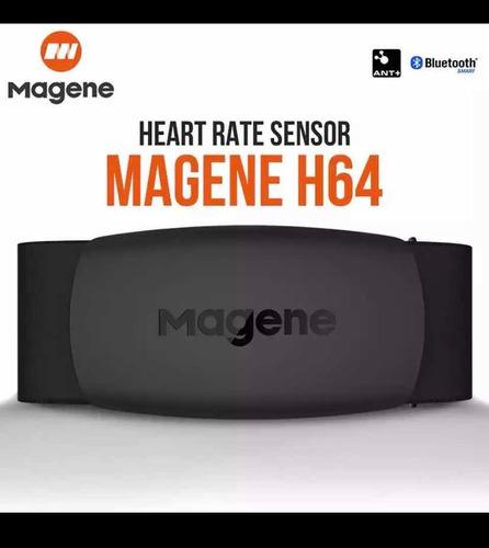 Cinta Cardíaca Magene H64 Com Nota Fiscal (ant+ E Bluetooth)