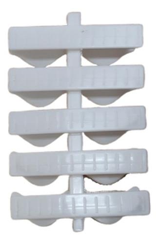 Grelha Flexível Plástica 10cm - 1 Metro
