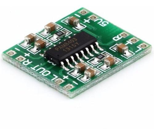 Amplificador De Audio Digital Estéreo Pam8403 Mini 3w