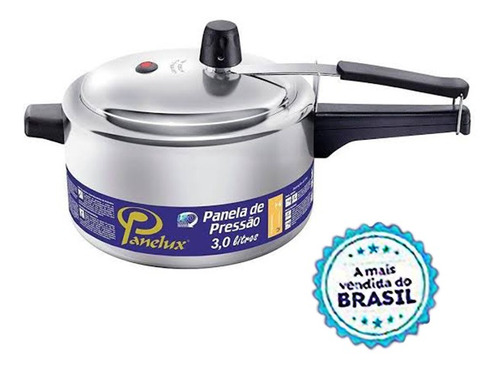 Panela De Pressão 3 Litros Panelux A Mais Vendida Do Brasil