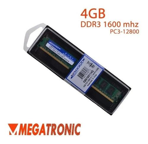 Memória Ddr3 4gb 1600mhz  Kbn16n11/4 (melhor Preço!)
