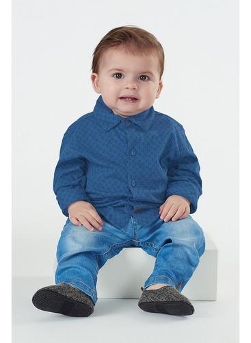 Calça Em Jeans Menino Up Baby