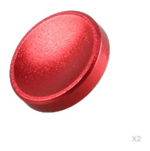 Botón De Disparo Rojo De La Cámara 2 Piezas Para Fuji X10/