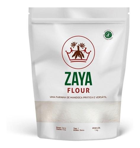 Farinha De Mandioca Sem Glúten Zaya Fluor 1kg