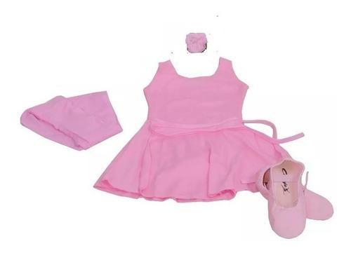 Ballet Roupa Kit Completo Infantil