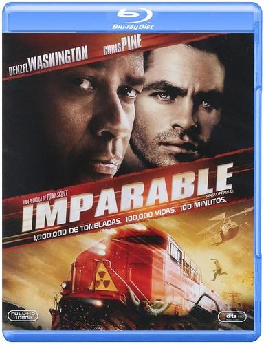 Imparable   Blu Ray Denzel Washington Película Nuevo