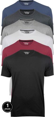 Camisa Masculina Básica Para Academia - Tecido Dura Line®