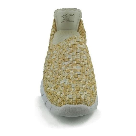 Zapatillas Lady Stork Mujer Elastizadas Keisha Super Precio!