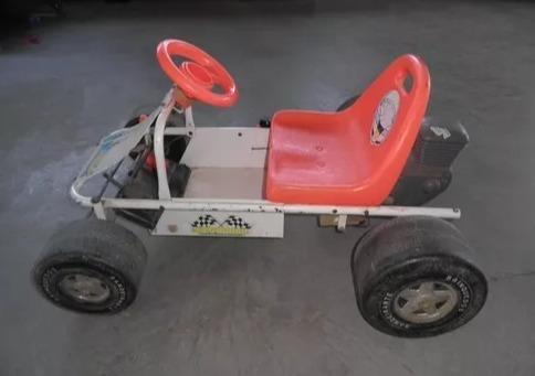 Brinquedo Kart Indoor Senninha Bandeirante Pedalcar