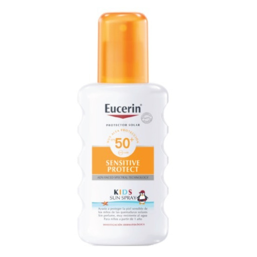 Protector Solar Eucerin Sensitive Protect Sun Kids Spray Fps50 X 200ml