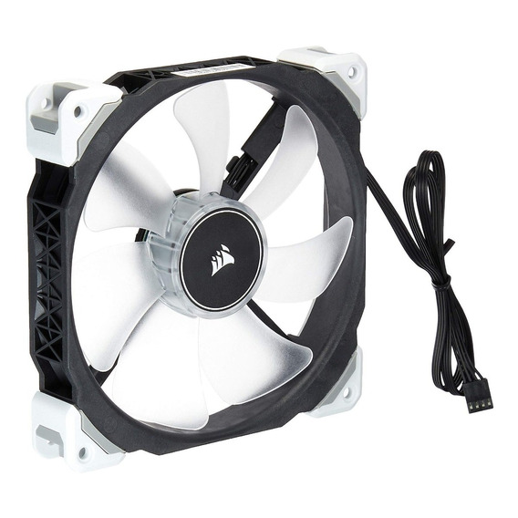 Fan Cooler Corsair Ml140 Pro Led, White, 140mm Premium Magne
