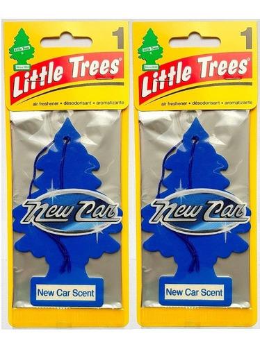 2 Little Trees Original Aromatizador Cheiro Cheirinho Carro