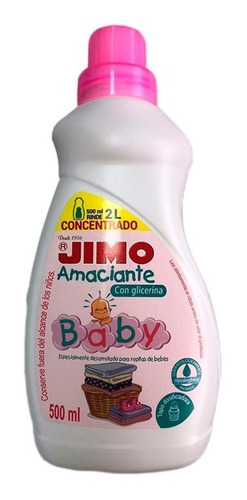 Suavizante Jimo Baby 500 Ml