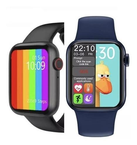 Smartwatch Inteligente Hw22 Lançamento Para Xiaomi E iPhone
