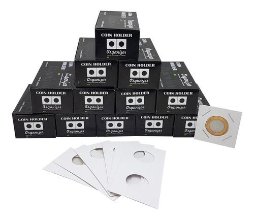 Coin Holder 600 Unidades (12 Caixas De 50un) Várias Medidas