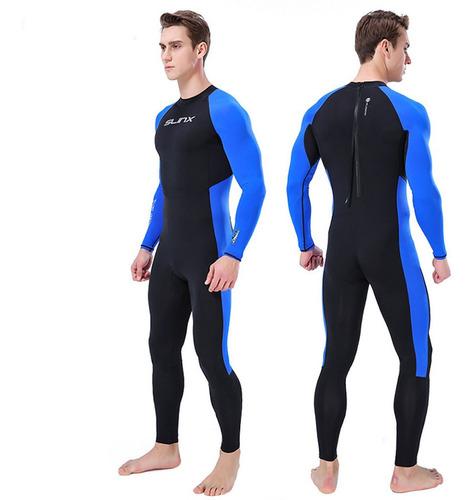 Homens Wetsuit Full Body Super Stretch Mergulho Terno 9523