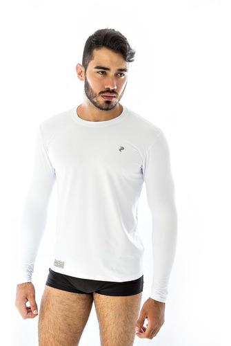Camiseta Camisa Proteção Uv Solar Radar Fitness Extra Gg