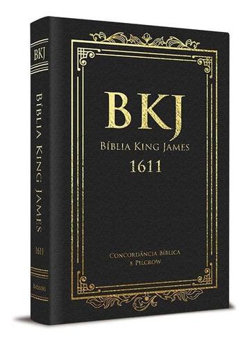 Bíblia King James 1611 C/ Concordância E Pilcrow - Capa Luxo