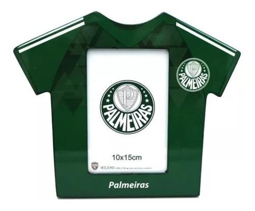 Porta Retrato Camisa Futebol Foto 10x15 Cm Palmeiras
