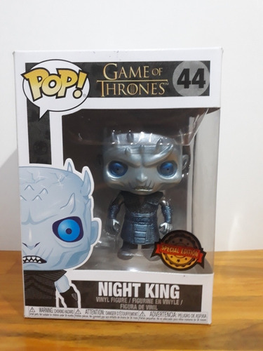 Funko Pop Night King Metallic Especial Edition