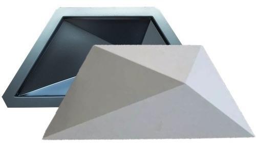 Forma De Gesso 3d E Cimento Abs 2mm Trapézio 18x42 Esquadro