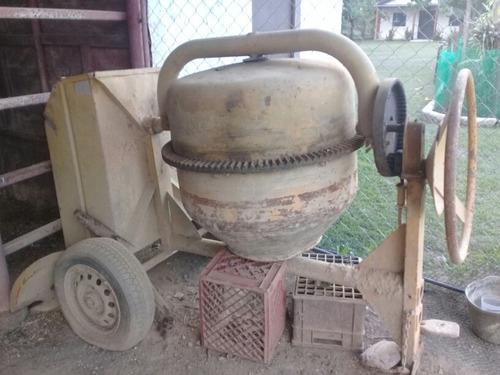Trompo Mezclador Sin Motor Con Capacidad Para Un Saco