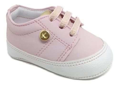 Tenis Menina Primeiros Passos Sapatinho De Bebê