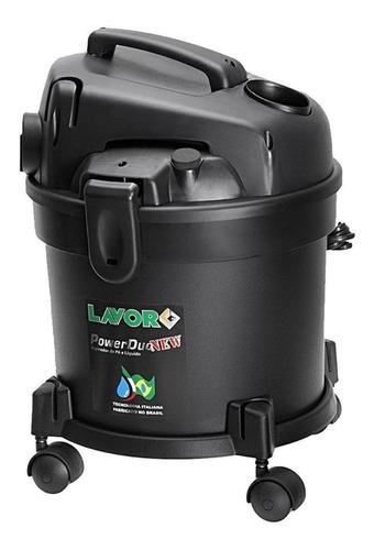 Aspirador De Pó Lavor Power Duo New 14l Preto 220v