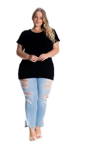 Blusas Femininas Plus Size Atacado Malha Viscolycra 1121