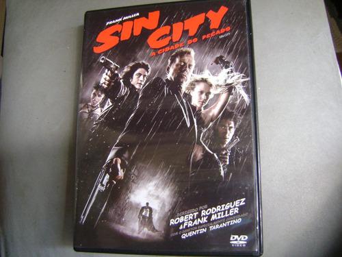 Dvd Sin City A Cidade Do Pecado Frank Miller M1b8 Original