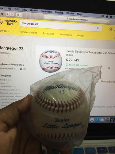 Pelota De Baseball Macgregor 77