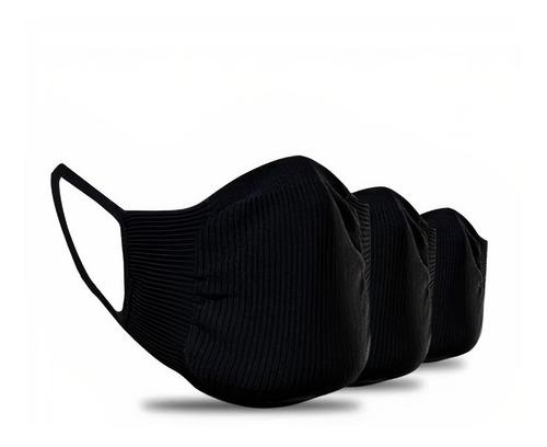 Kit 12 Máscaras Proteção Trifil Lavável Sem Costura Atacado
