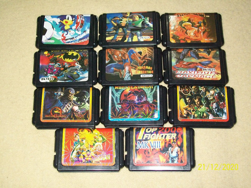 Juegos Varios Sega 16 Bits Genesis Megadrive Nuevos