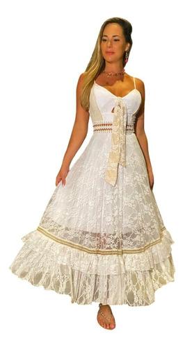 Vestido Longo Festa Tule Madrinha Debutantes 15 Anos
