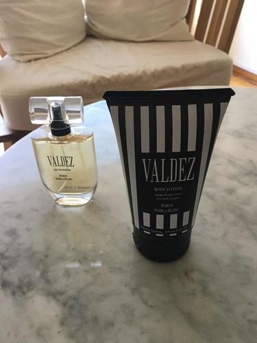 Perfume Valdez Paris Noir Et Blanc Edp + Body Lotion