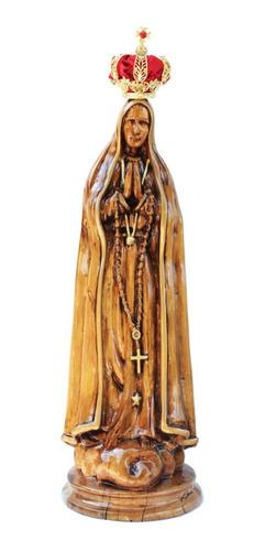 Nossa Senhora De Fátima,madeira, Arte Sacra