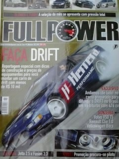 Revista Fullpower Nº50 Ano 05 Faça Drift Original