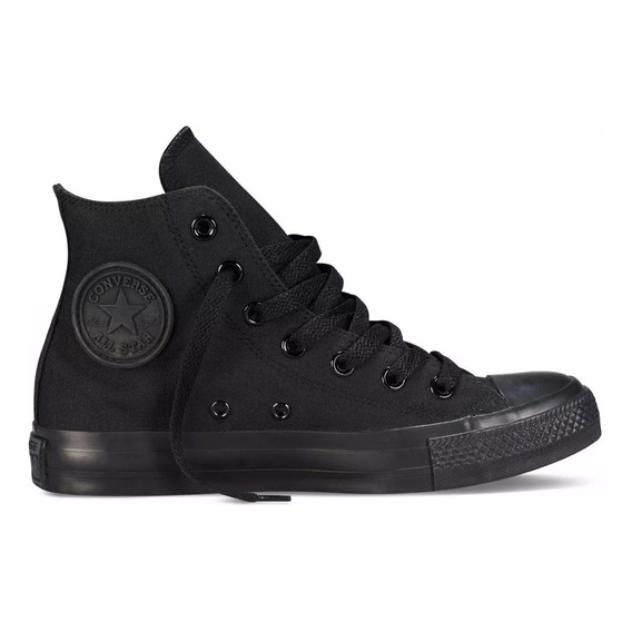 157005c Botita Converse All Star Monocromo High Lona