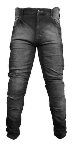 Calça Jeans Motociclista Kevlar Proteções Racing Rabbit