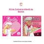 Kit Com 2 Livros De Culinárias Da Barbie