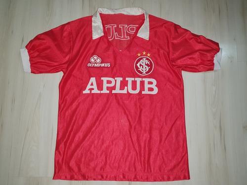 Rara Camisa Do Sc Internacional 1985 Olympikus #7 Aplub