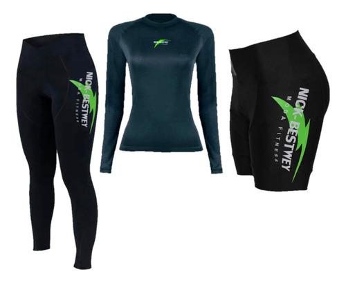 Conjunto Bermuda Camisa Calça Ciclismo Bike Mtb Acolchoada